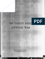 Air Target Index - Japanese War