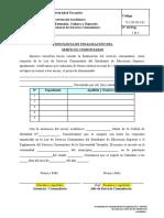 (F-1!05!013-01) Constancia de Finalizacion de Servicio Comunitario
