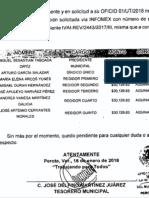 Aguinaldos 2017 entregados al cabildo de Perote
