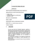 Plan Anual de Trabajo Del Aula (1)
