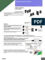 Omron E3Z Sensors Product Guide