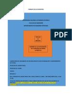 Formato de Los Reportes y Cuestionarios Previos