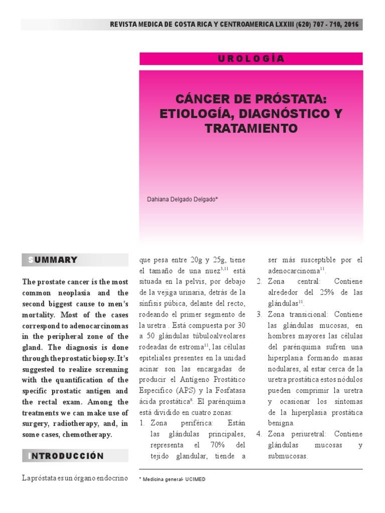 definición de hiperplasia prostática nodular