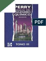 145652752 Manual Del Ingeniero Quimico 6ed Tomo III Perry