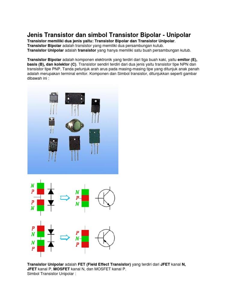 Jenis transistor dan simbol transistor bipolar ccuart Choice Image