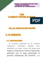 Clase 5 - Cemento - Laboratorio - Control de Calidad