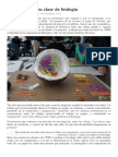 Obras de Arte en Clase de Biología