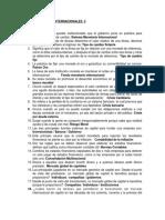 Cuestionario Negocios Internacionales 2