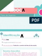Plano de Negócios e de Marketing feito para a Loja Virtual Doca Store