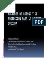 Factores de Riesgo y de Protección Para La Conductasuicida[Mododecompatibilidad](Converted)
