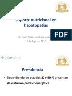 Soporte Nutricional en Hepatopatías