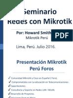 Redes de Mikrotik