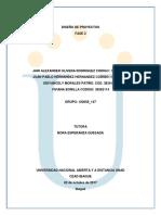 Diseño de Proyectos Fase2