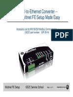 Multinet FE Setup R1_0