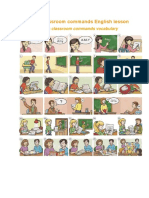 Classroom Cam Mands and Actions in PDF