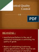 SQC control charts
