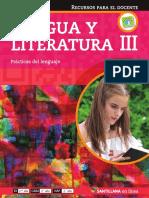 Lengua y Literatura III en Linea