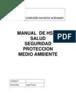 Manual de de Seguridad Indice Ed 3