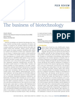 The business of biotechnology.pdf