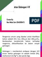 Presentation Kation I - IV