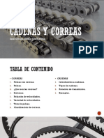 Cadenas y Correas