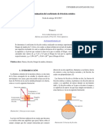7.0 Determinacion Del Coeficiente de Friccion