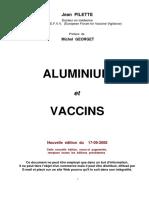 Aluminium Vaccins 17-09-2008