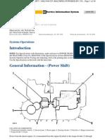 U3 - 3-D6C Power Shift Operacion