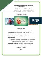 Monografia Valvulopatias