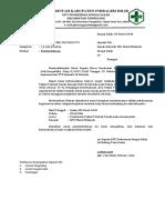 Surat Pemberitahuan Pelaksanaan Pemberian FE
