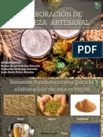 Elaboración de Cerveza Artesanal (Nivel Home brewers)