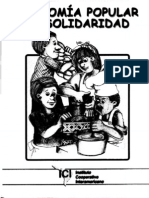 Cartilla Sobre Economai Popular Solidaria