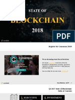 State of Blockchain 2018