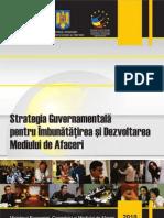 Strategia Dezvoltare Mediului Afaceri