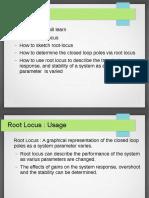 Root Locus Notes