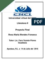 Proyecto Final Literatura