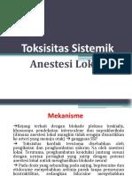 PresentationToksisitas Sistemik Anestesi Lokal