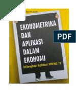 Bahan Ajar Ekonometri