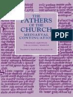 The Academic Sermons of Saint Thomas Aquinas Translated by Mark-Robin Hoogland, CP
