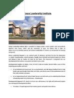 Infosys Leadership Institute