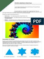 Computer Graphics Fractals