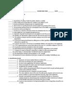 Taxation, business examination