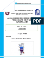 Practica de Absorcion