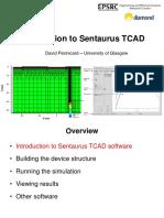 Introduction to Sentaurus TCAD
