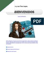 Isaac Newton y Sus Tres Leyes
