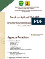 237076681 Pelatihan Aplikasi WebGIS