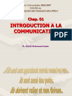 Communication Chap01 2018