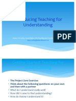 Marian Mc Carthy - Introducing Teaching for Understanding - Generic Presentation - 6th Sept 2013_1.ppt