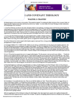 Baptism and Covenant Theology