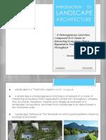 Introduction to Landscape & Ecology _ ARUNRAJJ